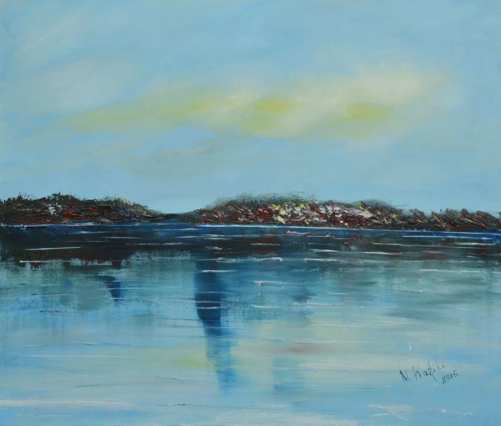 modern-seascape-painting by Niki Katiki