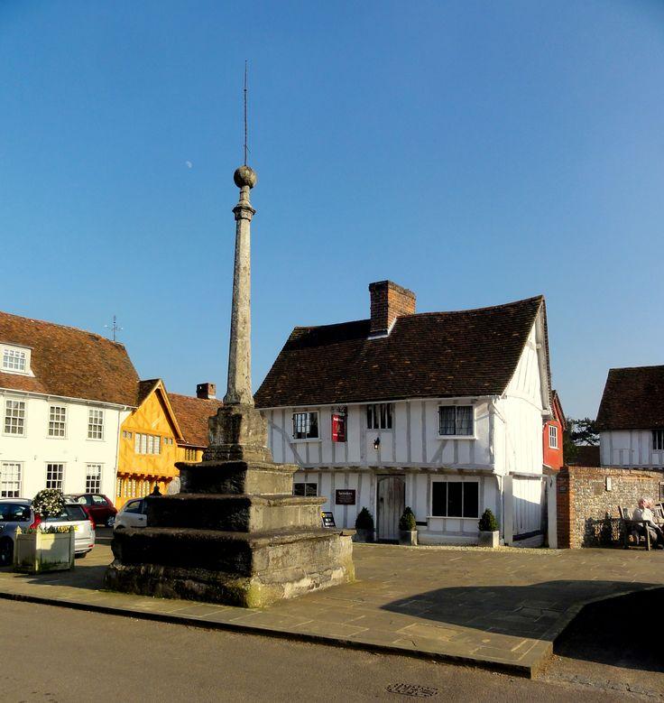 The absolute center of Lavenham