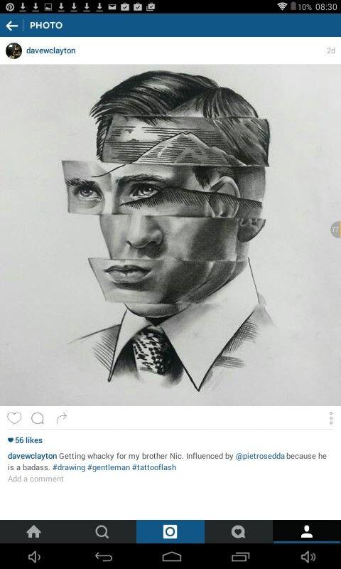 Creative and manipulative piece by 'davewclayton'