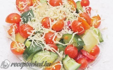 Sopszka saláta recept fotóval