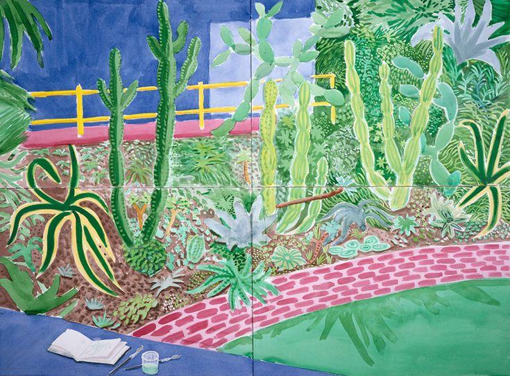 "sonjabarbaric: "" David Hockney """
