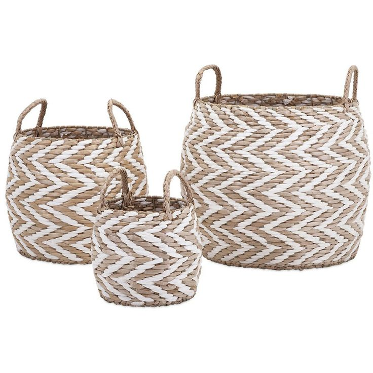 Logan Woven Baskets (Set of 3)