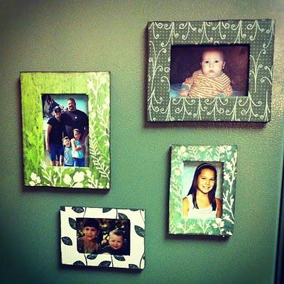 Magnetic Photo Frames for your fridge