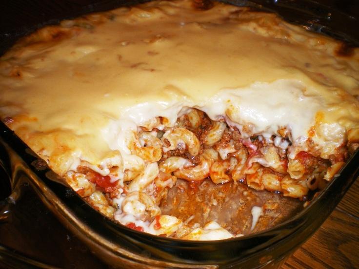 Filipino baked mac