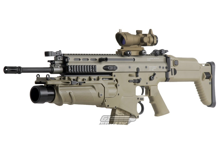 This would make a great wall-hanger & prop, I am unlikely to get a hold of a real FN SCAR to put on my wall...  Awesome+guns | ARES MK16 LB AEG Airsoft Gun by: Star Airsoft - Airsoft GI - the