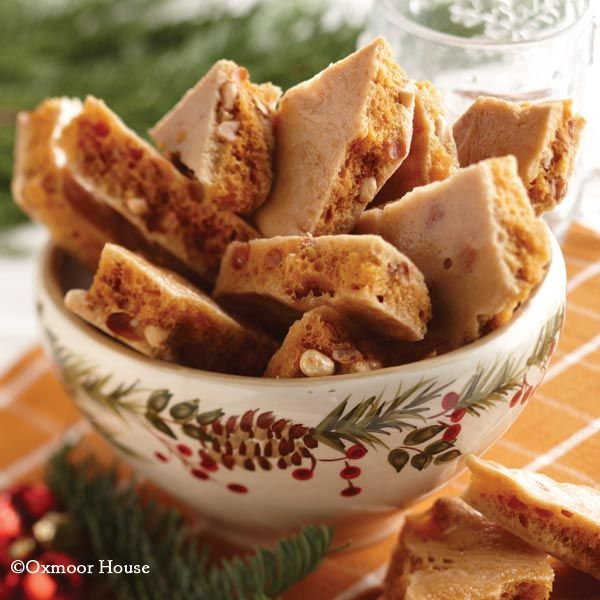 Gooseberry Patch Recipes: An old fashioned recipe for Grandma's Peanut Sponge Candy