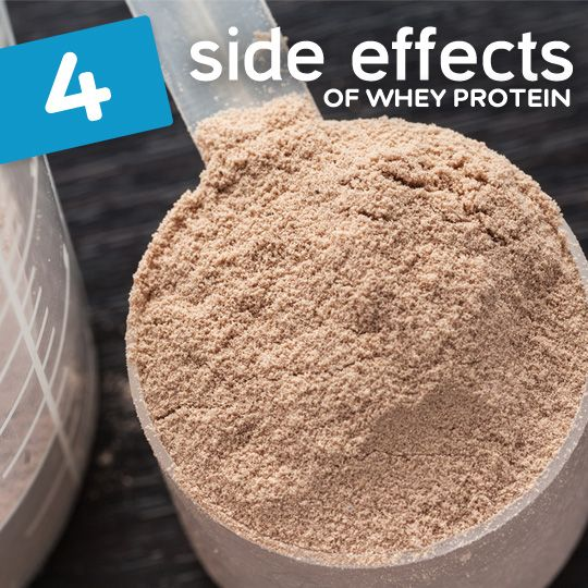 These are some potentially harmful side-effects of supplementing with whey protein…
