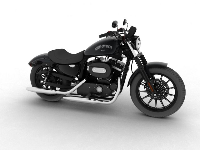 Harley Davidson XL883 Sportster Iron 2012 3D Model- Harley Davidson XL883 Sportster Iron 2012      The model was made in 3DS Max. All objects are modelled with polygonal surfaces. Most polygons in the model are quads.    Fully detailed and textured.    Both standard and Brazil r/s materials included. No plugins are therefore required. The Brazil materials are the ones used for the previews above. Bitmaps are offered in high resolution (5120x5120px for the bodywork and 800x800 for the…