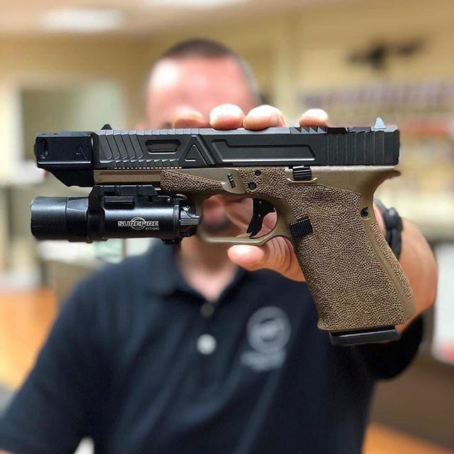 Agency Arms 417 Comps available @palmbeachtactical @agencyarms @surefire_llc @glockinc @glockfeed #agencyarms #comp #417 #glock
