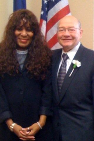 Lorraine and Congressman Gary Ackerman.