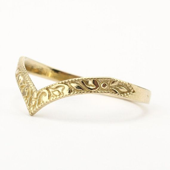 Hey, I found this really awesome Etsy listing at https://www.etsy.com/listing/187779178/gold-wedding-band-stacking-ring-curved