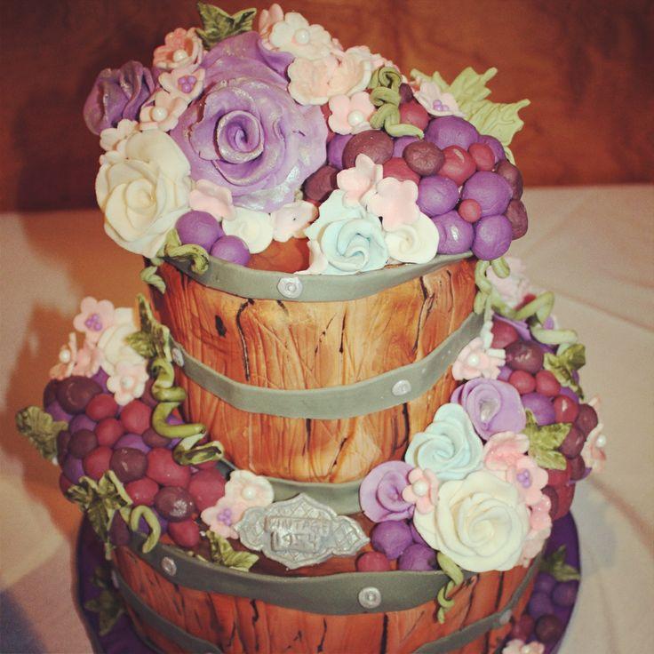 1000+ Ideas About Wine Theme Cakes On Pinterest