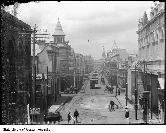 High St West, Fremantle 1906