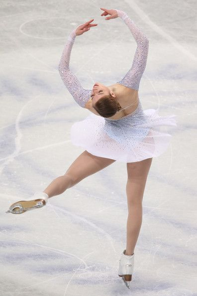 Carolina Kostner of Italy competes in the Ladies Short Program during ISU World Figure Skating Championships at Saitama Super Arena on March 27, 2014 in Saitama, Japan.