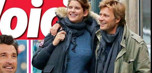 Laurent Delahousse et Alice Taglioni, c'est une fille selon Voici