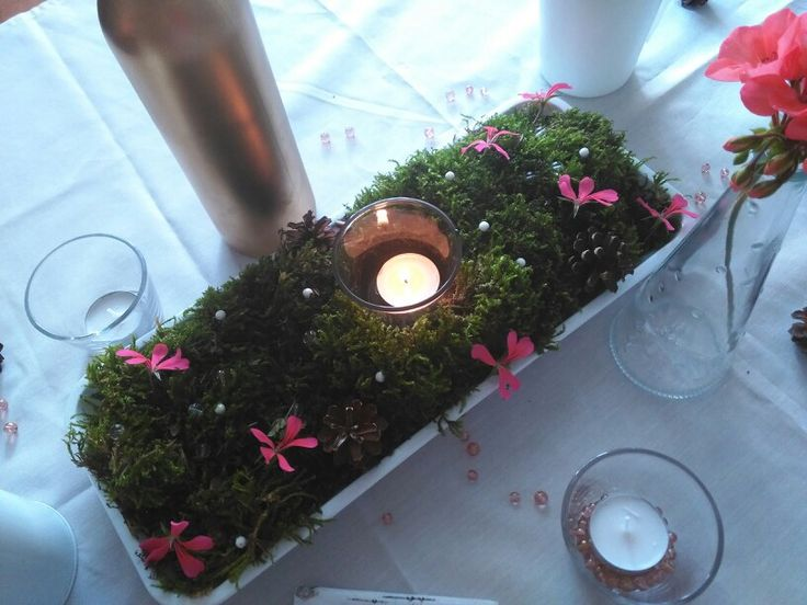 Wedding table trial