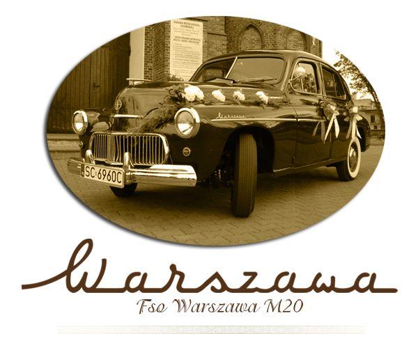 Zabytkowe auto do ślubu Częstochowa