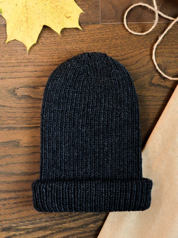 Leon - warm, soft and cozy beanie. Created with amazing merino wool.  Available on www.tenderside.com