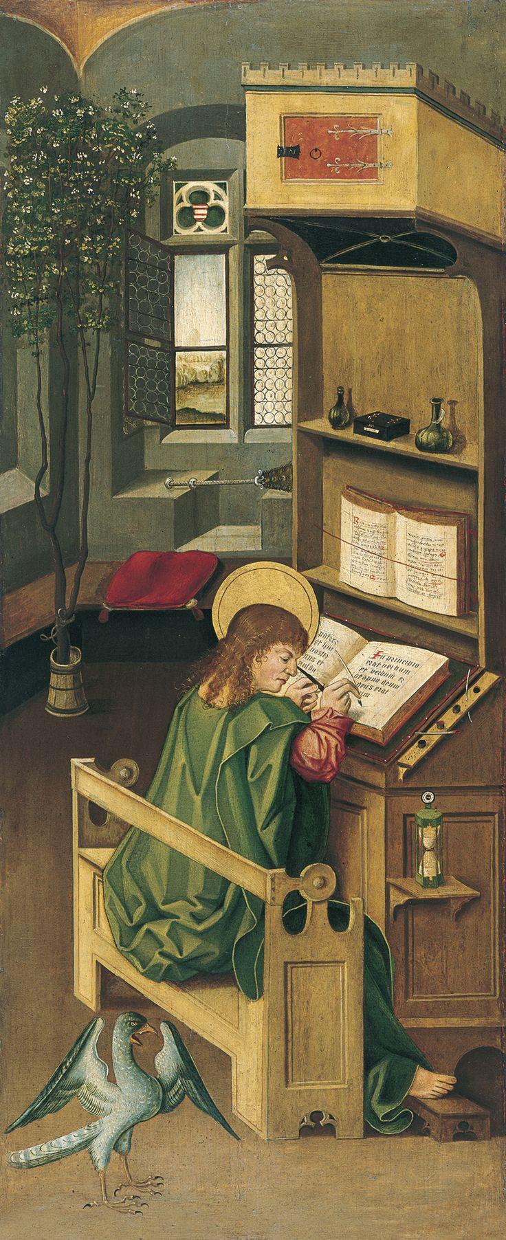 Saint John the Evangelist - Gabriel Mälesskircher | Museo Thyssen