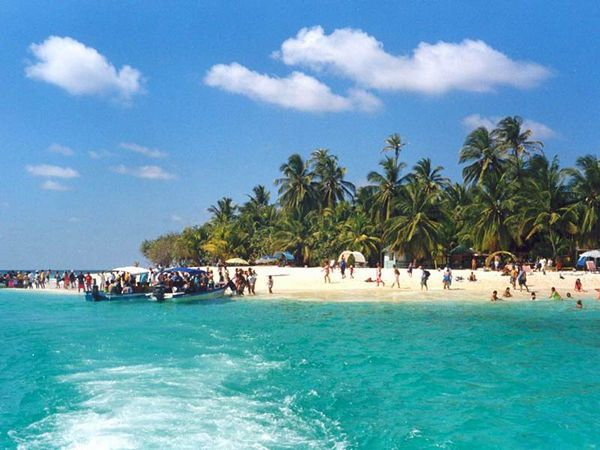 "Julie. ""San Andrés"" is an Island located in Colombia. is a beautiful place and you can  enjoy the nature. is ideal for vacation"