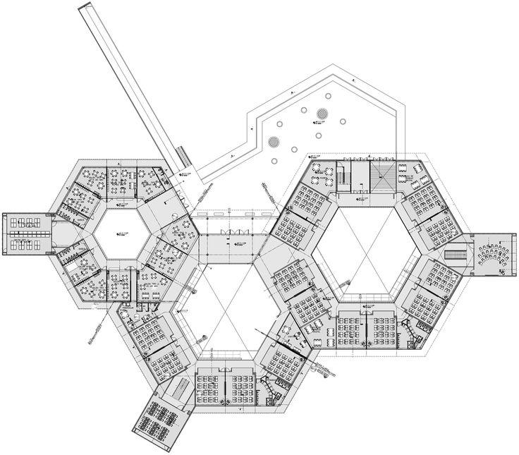 Pies-Descalzos-School_Cartagena-Colombia_Giancarlo-Mazzanti_13.jpg (2500×2191). Arquitectura. Dibujos. Plantas. Colegios