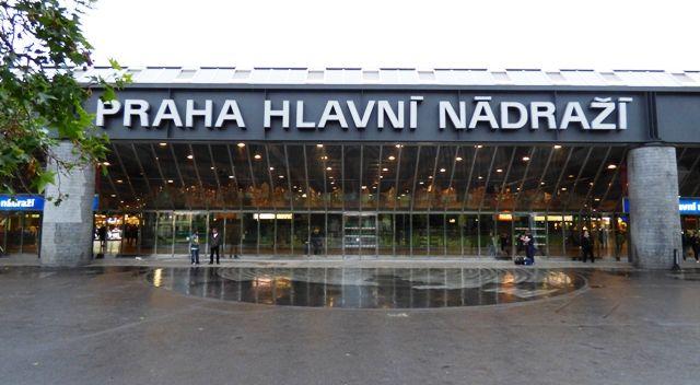 Prague Hlavni Nadrazi station, Nadr, Czech Republic, Praha.