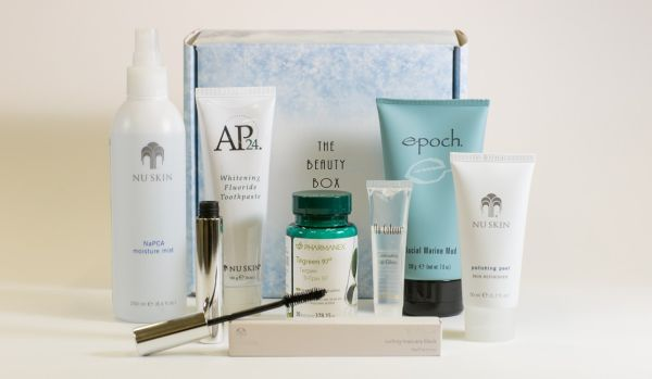 All the products you need, in one beautiful box!  For more information, check out my blog :)