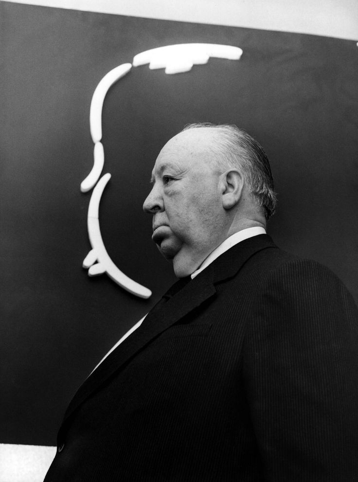 a description of alfred hitchcock as the master of suspense The scene fades up on a simple line-drawing of alfred hitchcock's rotund profile  (the word rotund seems to have been invented to describe.