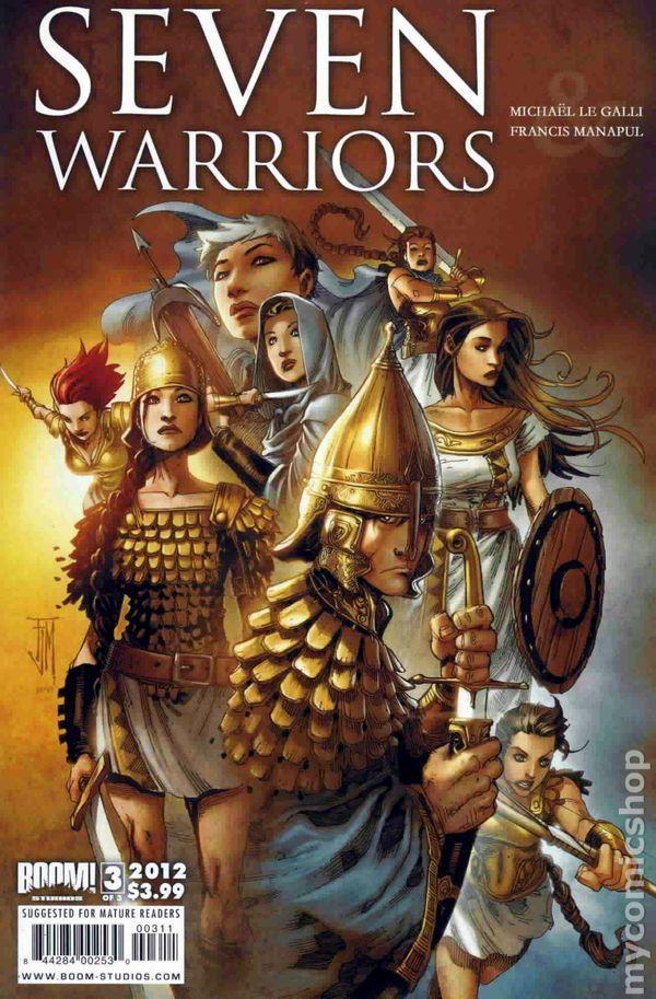 Seven Warriors (2011 Boom Studios) 3