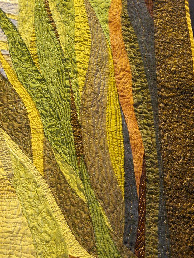 CAROLYN SAXBY MIXED MEDIA TEXTILE ART: August 2011