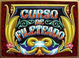 Estudio de Fileteado :: Fileteado Porteño por Norberto Cáceres | INICIO | Fileteado Porteño, Clases de Fileteado, Taller de Fileteado Porteño, Cursos de Fileteado, Filete, Fileteado