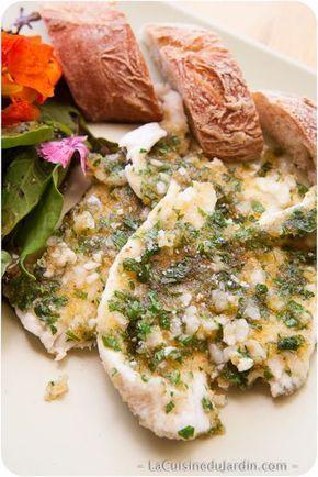 Filet de carrelet à la provençale | http://www.lacuisinedujardin.com/recette/filet-carrelet-provencale