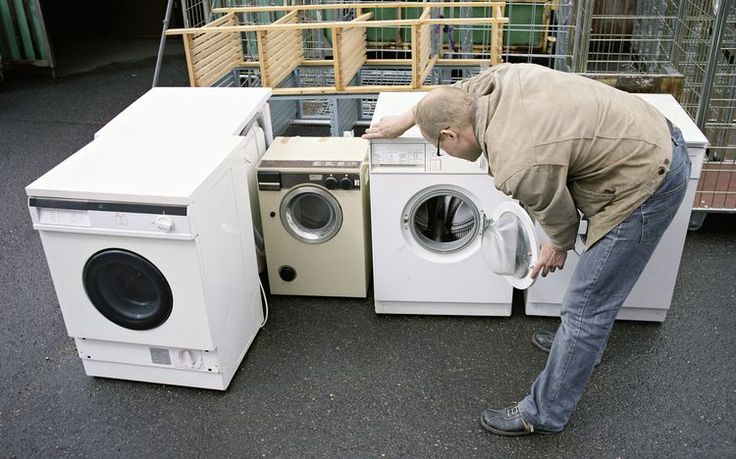 Cool Ways To Recycle Old Laundry Equipment