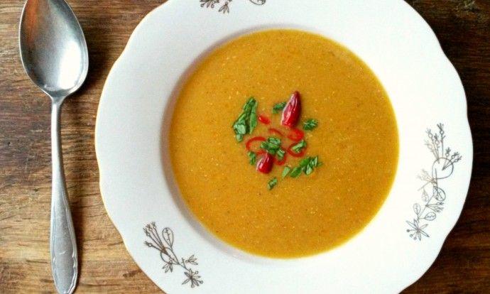 Mercimek çorbası – polévka z červené čočky