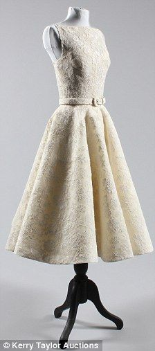 Audrey Hepburn Oscar (Roman Holiday) dress.