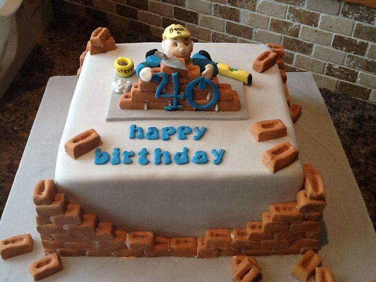 13 best Contractor cakesstuff images on Pinterest Amazing cakes