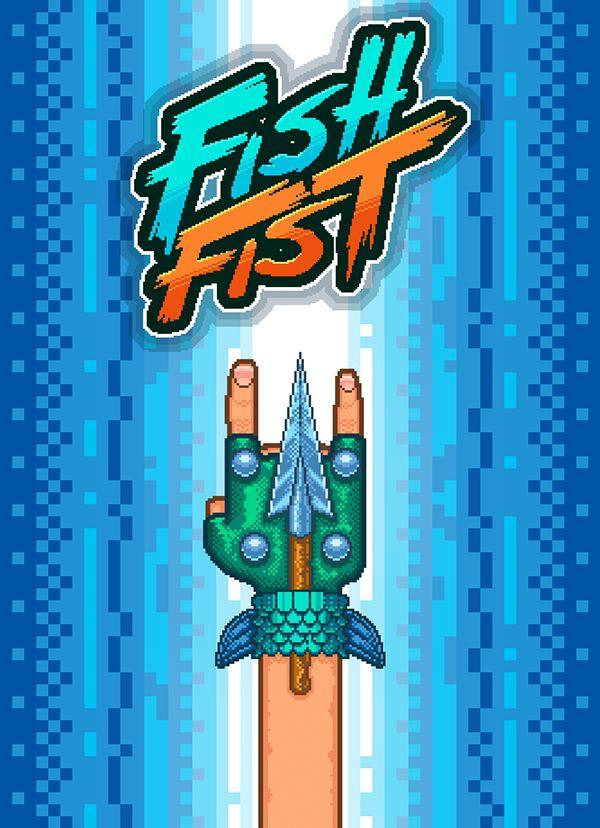https://www.behance.net/gallery/19634891/Artwork-of-the-indie-game-Fish-Fist-Arcade