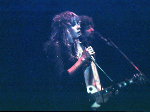 singer Stevie Nicks and guitarist Lindsey Buckingham of rock news ...
