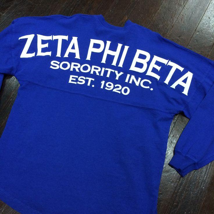 Zeta Phi Beta Spirit Jersey – Campus Connection