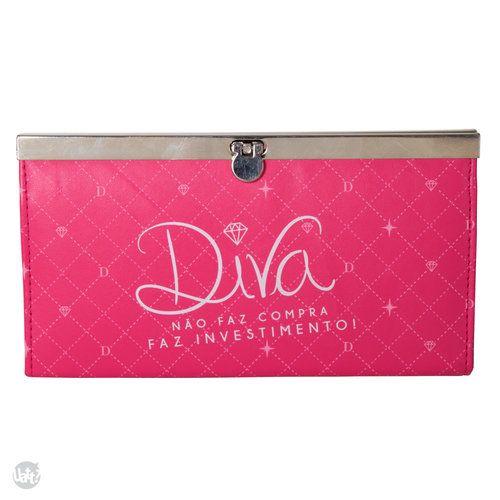 CARTEIRA CLUTCH - DIVA Ref.: 22618 R$ 75,90
