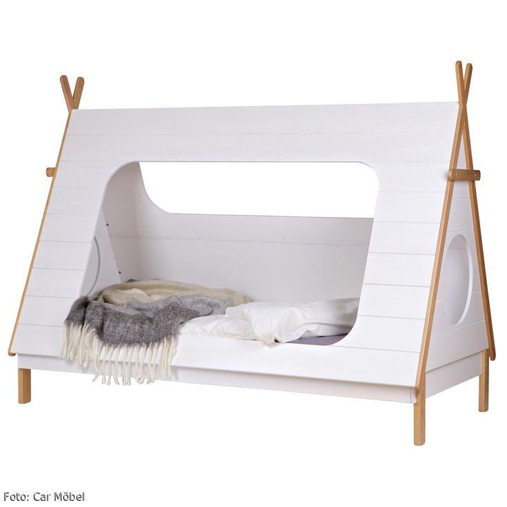Campingromantik Im Kinderzimmer Wie Eine Koje Wirkt Das Kinderbett Zelt Von CAR Mbel