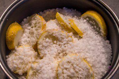 Entretien – Produit naturel au citron pour lave vaisselle