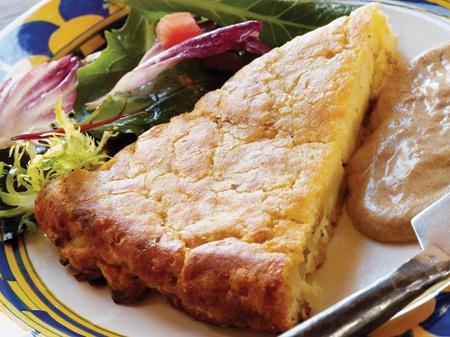 "Buttery Crisp Potato Cake"" from Cookstr.com #cookstr"