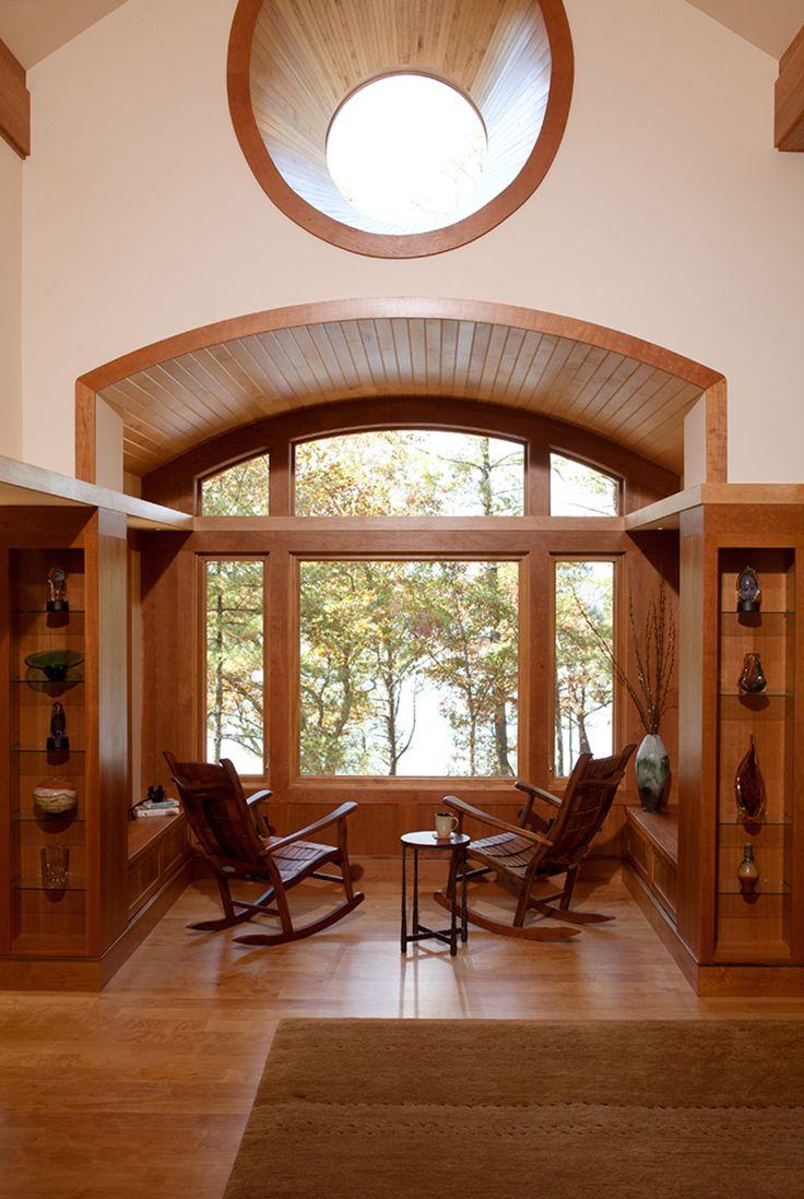 Elegant Sitting Alcove    Plan 454 14   By Sarah Susanka And Tina Govan