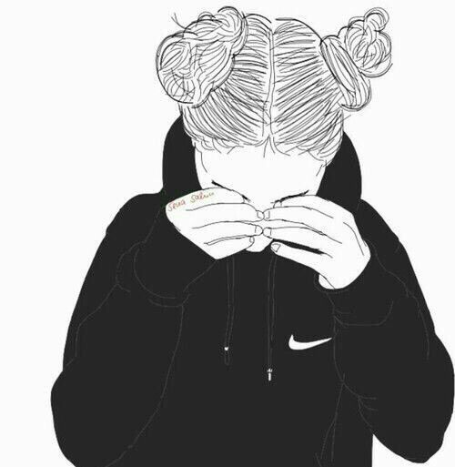 black and white, drawing, ness, outline, outlines, tumblr