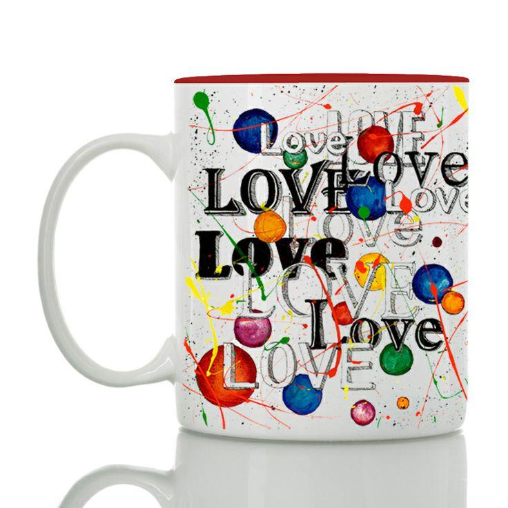 Love love love mug! Love is the beginning of everything. #love #mugs #valentine's #storymood