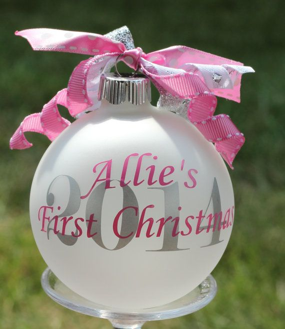 25  best ideas about baby first christmas ornament on pinterest