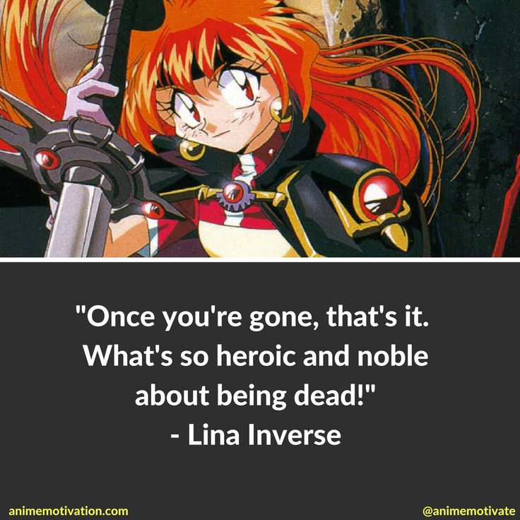 Lina Inverse from Slayers Anime