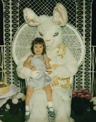 15 Easter Bunnies more terrifying than a crucified man coming back from the dead.