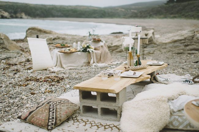 Minimal Bohemian Beach Elopement Inspiration | Green Wedding Shoes Wedding Blog | Wedding Trends for Stylish + Creative Brides